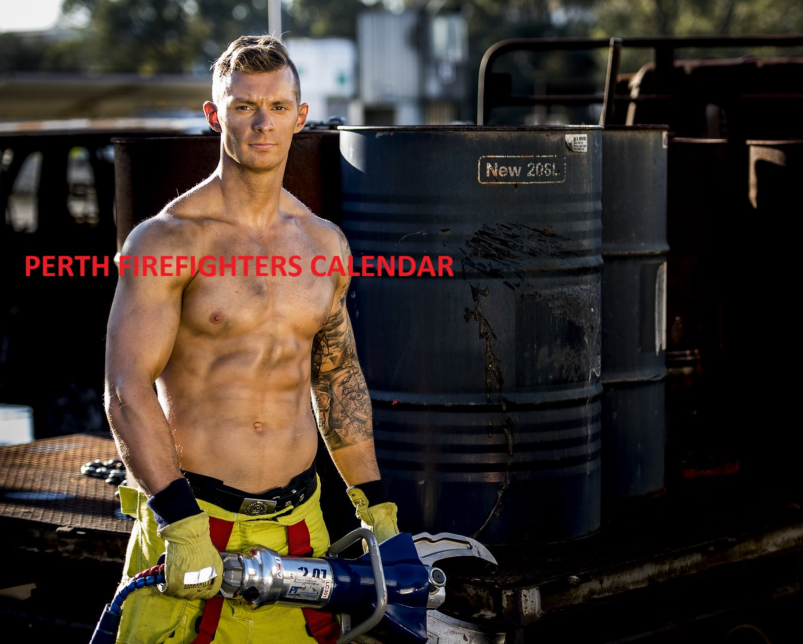 fireman calendar launch perth - My Blog About May2018 ...